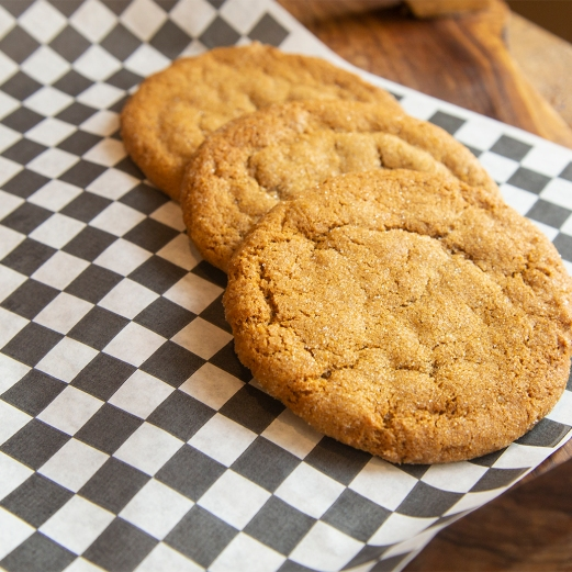Peanut Butter Cookies from Eat My Shortbread